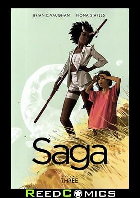 SAGA VOLUME 3 GRAPHIC NOVEL New Paperback Collects Issues #13-18