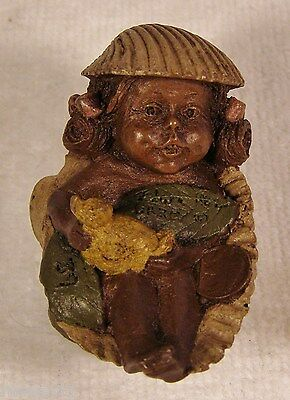 Tom Clark Gnome '87~#1167 Darcy-R~Ed 39~Tiny~Adorable~Ernie's Twin Sister~Collec