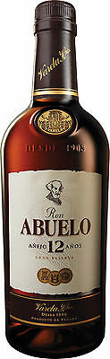 Ron Abuelo 12 Años 12 Year Old Panama Rum 700mL