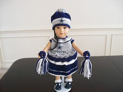 """DIANE'S CROCHET DOLL CLOTHING & ACCESSORIES FOR 18""""JOURNEY GIRL DOLLS, 5 YEARS"""