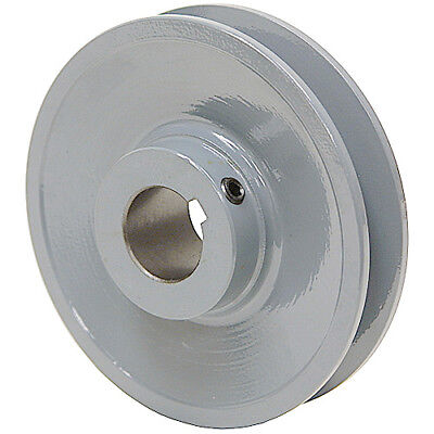 "4.45"" Diameter 5/8"" Bore 1 Groove V-Belt Pulley 1-Bk47-B"