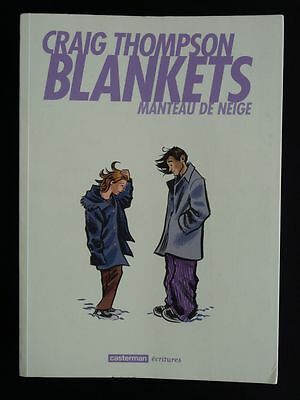 BLANKETS Craig Thompson Manteau de neige TBE