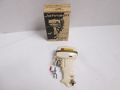 No. 43 Fleet Line Johnson Toy Electric Outboard Motor New Old Stock