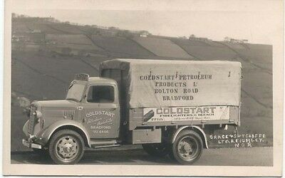 Commer Truck original Postcard Sized Photograph Coldstart Petroleum Bradford