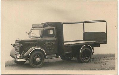 Commer Truck original Postcard Sized Photograph Stanley Dunn Keighley