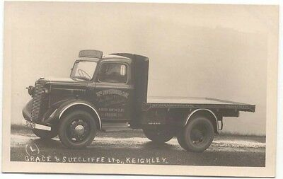 Commer Truck original Postcard Sized Photograph Wm Duckworth Nelson