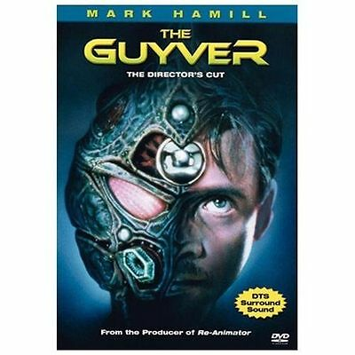 The Guyver (DVD, 2004, Director's Cut) Mark Hamill, Vivian Wu NEW SEALED