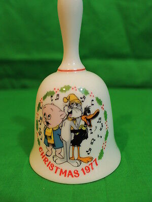 LOONEY TUNES CHRISTMAS 1977 LIMITED EDITION COLLECTORS BELL Dave Grossman Design