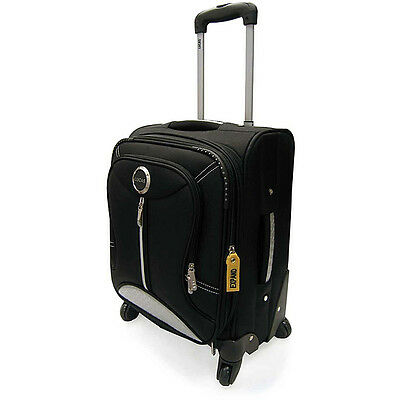 "LIGHTWEIGHT LUCAS 20"" EXPANDABLE WHEELED UPRIGHT CARRY-ON SPINNER LUGGAGE NEW!"