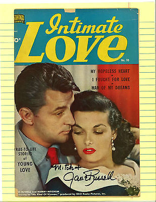 Intimate Love #20.  Jane Russell signed.