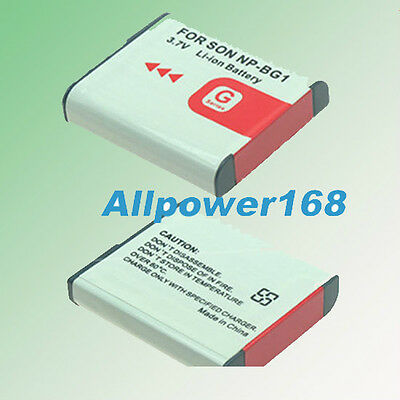 NP-BG1 Battery for Sony Cyber-Shot DSC-W30 W300 W35 W50 DSC-HX7V DSC-HX9V New