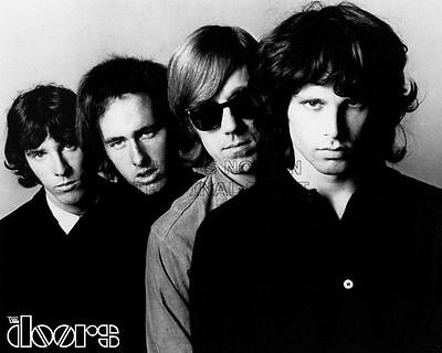 Jim Morrison And The Doors Glossy 8X10 B&w Photo Picture #126