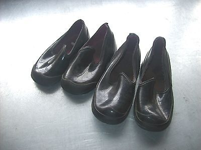 2 Pair of Vintage Child's Rubber Overshoes