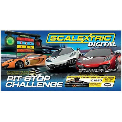 Scalextric 1:32 Digital Pit Stop Challenge Race Track Set