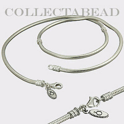 Authentic Pandora Sterling  Silver Necklace with Lobster Lock 19.7  590704HV