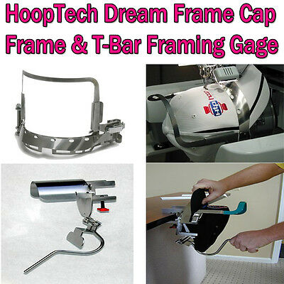 HoopTech Dream Frame Cap Frame & T-Bar Gage for Brother PR600 Series & BabyLock