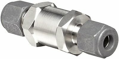 1//2 CPI Compression Fitting 1 psi Cracking Pressure Parker C Series Stainless Steel 316 Check Valve