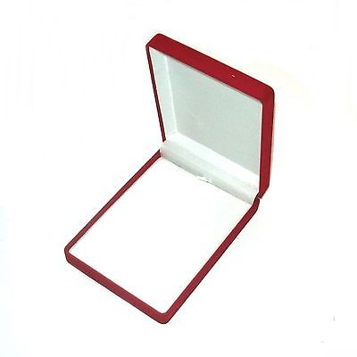 New 1-6-12- 24-48-144 pcs Red Velvet Small Necklace Jewelry Display Gift Boxes