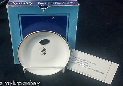 MIB VINTAGE Aynsley Fine English Bone China Plate Saucer Marked & GIFT!