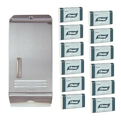 Kimberly Clark® Compact Towel Stainless Steel Starter Pack (4440 4970)