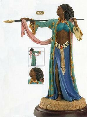 "Thomas Blackshear's Ebony Visions ""The Amazon Woman"" Figurine NIB"