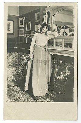 Dorothea Baird - English Stage and Film Actress - Vintage Silver Print Postcard