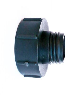 "IBC ADAPTER.Converts  S100X8 Male Butress to 2"" S60X6 Male Butress Thread"