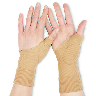 Gel Thumb Hand Wrist Sprain Therapy Support Compression Brace Arthritis Gout MCP