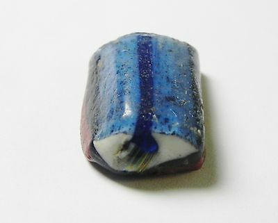Zurqieh - Vs8- Rare Roman Glass Strip , In The Shape Of An Eye , 100 - 200 A.d
