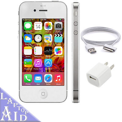 Apple iPhone 4S 16GB - AT&T - White Smartphone - Great Condition