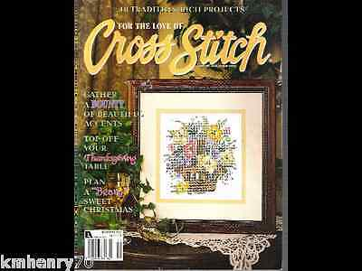 Leisure Arts For the Love of Cross Stitch Magazine November 2001 18 Projects