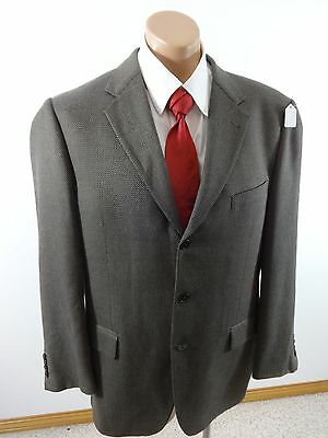 Joseph Abboud Nordstrom Mens Brown Tweed Polyester Blend Sports Coat Size 42 R