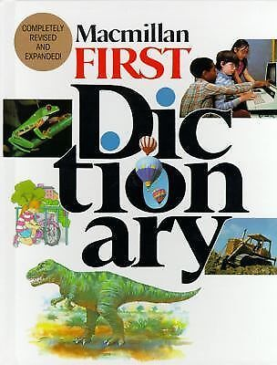 Macmillan First Dictionary (1990, Hardcover, Revised...