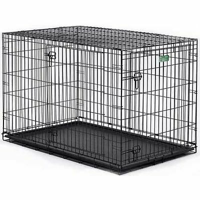Midwest iCrate Folding 1 or 2 Door Dog Crate cage kennel portable travel NEW