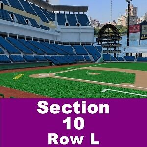 2 TIX Pittsburgh Pirates vs NY Mets 5/22 PNC Park Sect-9 Row F