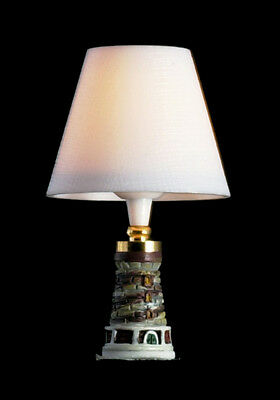 Dollhouse Miniature Table Lamp - Lighthouse - 12v - T8672
