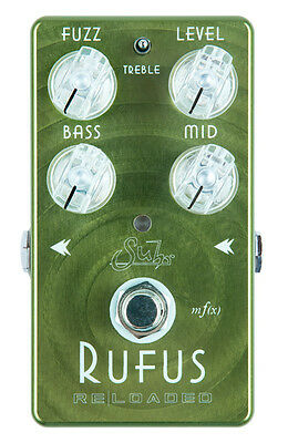 SUHR RUFUS RELOADED FUZZ Pedal *Boutique Quality