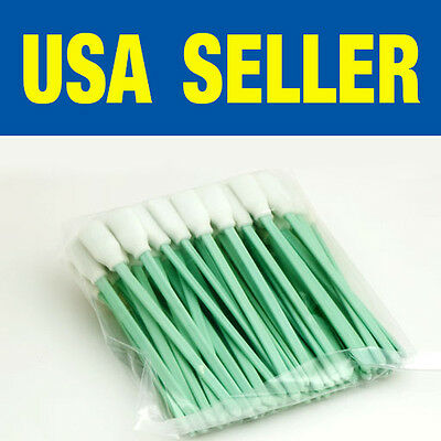 300 pc Solvent Cleaning  Foam Swabs swab for Large Format Roland Mimaki Mutoh...