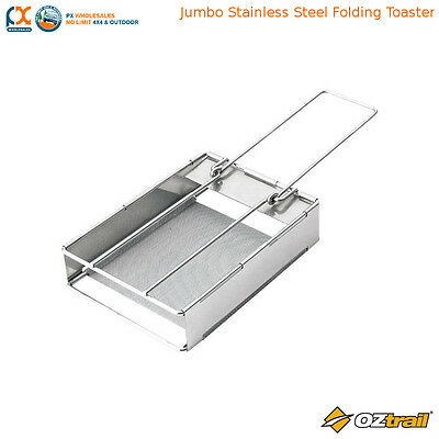 Toaster Camping Stove Folding Camp Bread Toast Breakfast