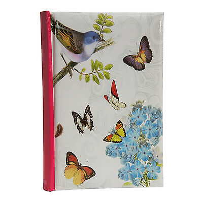 Vintage Butterfly Large 6x4'' 300 Photos Slip in Photo Album with Memo Area -BB3
