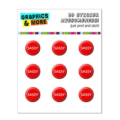 Sassy Bold Full of Spirit Home Button Stickers Fit iPhone 3G 3GS 4 4S 5 5C 5S
