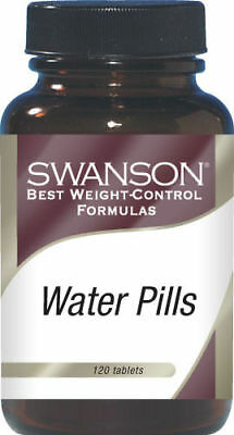 Water Pills x 120 TABLETS * WATER RETENTION BLOATING , DIURETIC, DIET DETOX