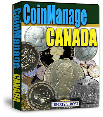 2015 Canadian Coin Collecting Software.  All Canada Coins & Sets With Values