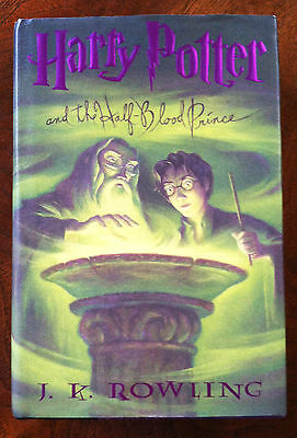NEW! HARRY POTTER AND THE HALF BLOOD PRINCE - JK ROWLING - 1ST FIRST US EDITION!