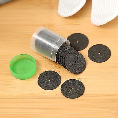 Power Cut Off Wheels 24mm Reinforced 1 Tube 36 Discs For Grinder Rotary Black