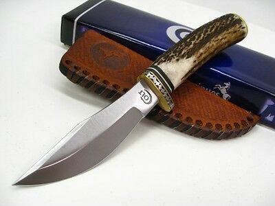 COLT Stag SKINNER Straight Fixed Blade Hunter Hunting Knife + Sheath New! CT405