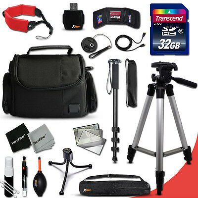 Ultimate ACCESSORIES KIT f/Nikon Coolpix AW130, AW120, AW110, S80, S60, S220, P4
