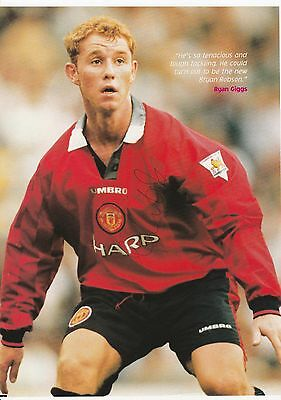 Nicky Butt Manchester United 1992-2004 Original Hand Signed Magazine Picture