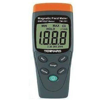 TENMARS TM-191 Magnetic Field Meter EMF / ELF