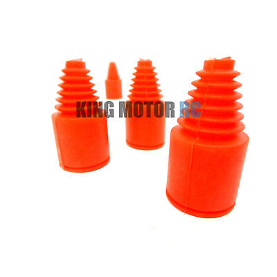 New King Motor Red Silicone Rubber Axle Boots Fit HPI Baja 5b 5T SC SS 2.0 Buggy